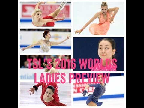 TSL and Christine Brennan Preview the Ladies Event at the 2016 World Championships
