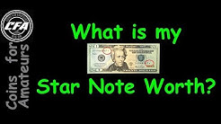 How much is my Star Note Worth | Finding value of Star Notes | Collectible Currency