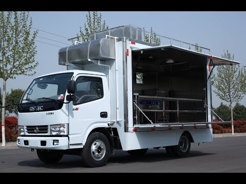 SINOSWAN Mobile Kitchen Food Truck For Sale