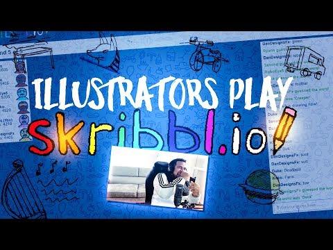 Illustrators Play Skribbl.io - Funny Moments