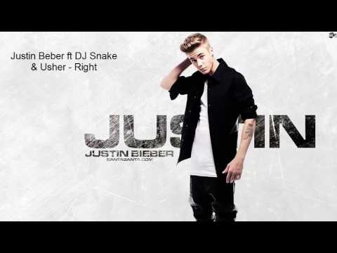 Justin Bieber ft DJ Snake & Usher - Right ( new song 2017 )