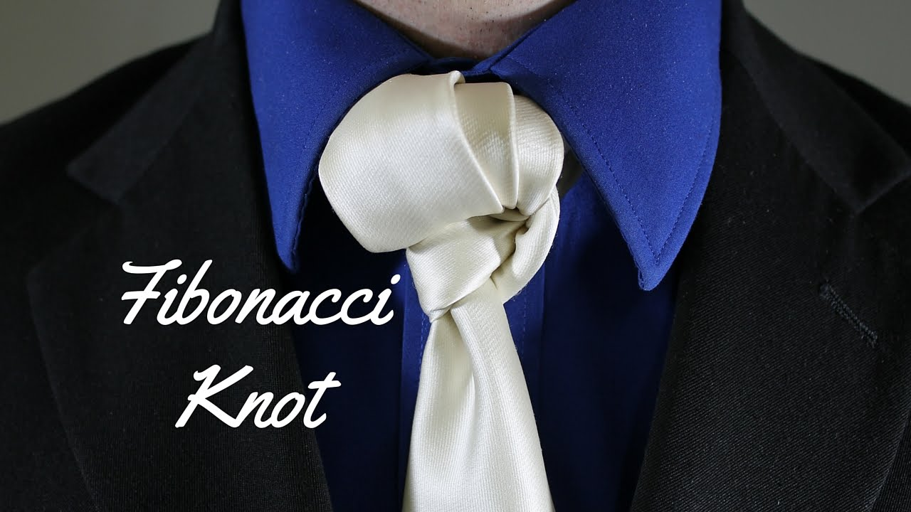 How to tie a tie fibonacci knot youtube ccuart Choice Image