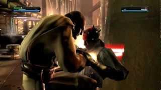 Star Wars - The Force Unleashed: Qui-Gon Jinn vs. Darth Maul