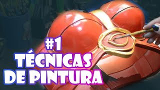 Dica Cosplay /Tutorial Cosplay - Técnicas de Pintura (part1)