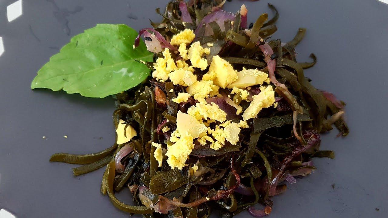 С этим салатом я ПОХУДЕЛА на 20 кг! САЛАТ из МОРСКОЙ КАПУСТЫ с лимоном и яйцом от Elena France