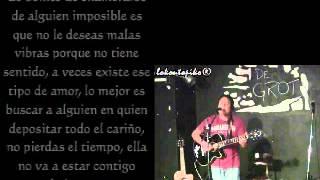 ♫ alex joffre - a ella (letras) (en vivo lokoutopiko) ♫