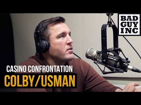 About Kamaru Usman and friends confronting Colby Covington...