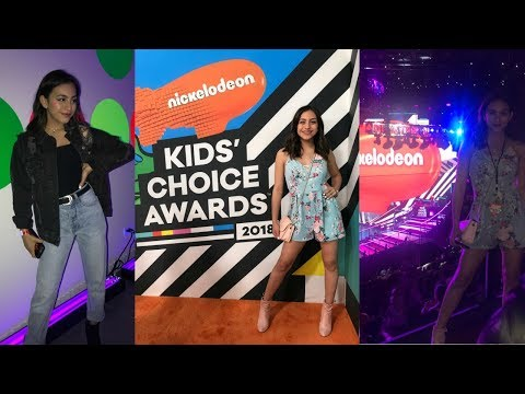 COME WITH ME TO THE KIDS CHOICE AWARDS! | Orange Carpet, Parties, and More!