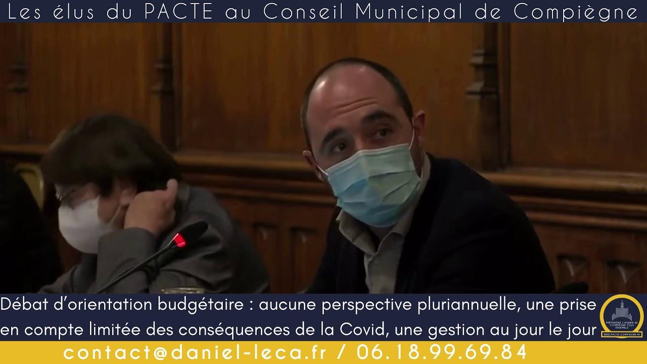 Débat d'orientation budgétaire à Compiègne : aucune perspective en vue