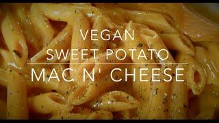 Sweet Potato Mac n Cheese  Vegan (High carb Low fat)