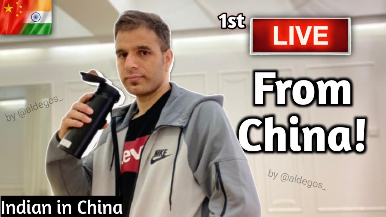My first live    QNA    Indian in China   