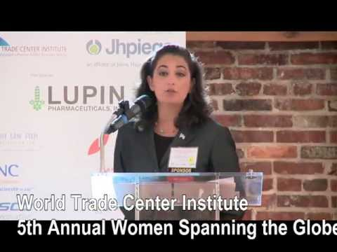 Clip from WTCI's 5th Annual Women Spanning the Globe Panel Women in a Man's World