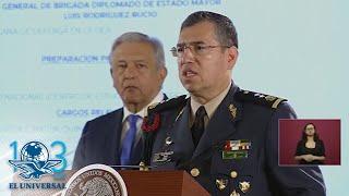 AMLO nombra al general Luis Rodríguez Bucio como comandante de la Guardia Nacional