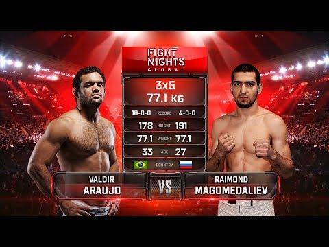 Валдир Арауджо vs. Раймонд Магомедалиев / Valdir Araujo vs. Raimond Magomedaliev