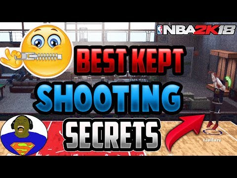 SECRETS TO GETTING GREEN LIGHTS + NEW BEST JUMPER AFTER PATCH 4  NBA 2K18 MY PARK PLAYGROUND