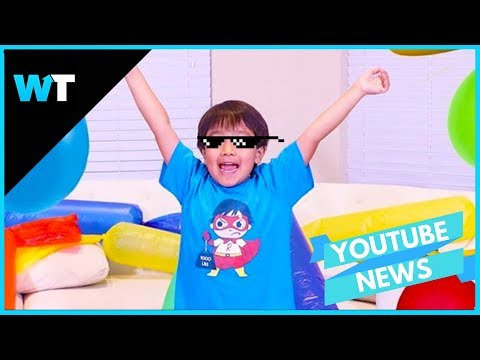 7 Year-Old is HIGHEST PAID YouTuber Making $22 Million