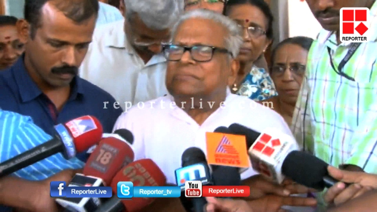 VS against CM Pinarayi Vijayan on Law Academy Land Issue