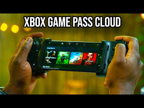 Xbox Game Pass Cloud Beta Galaxy Note 20 | First Look!!!