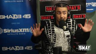 Quincy Brown talks Star, Coming From a Successful Family + Kicks a Fire Freestyle