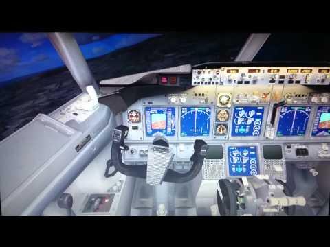 Free flight... Landing @ runway 22.. Mactan cebu..