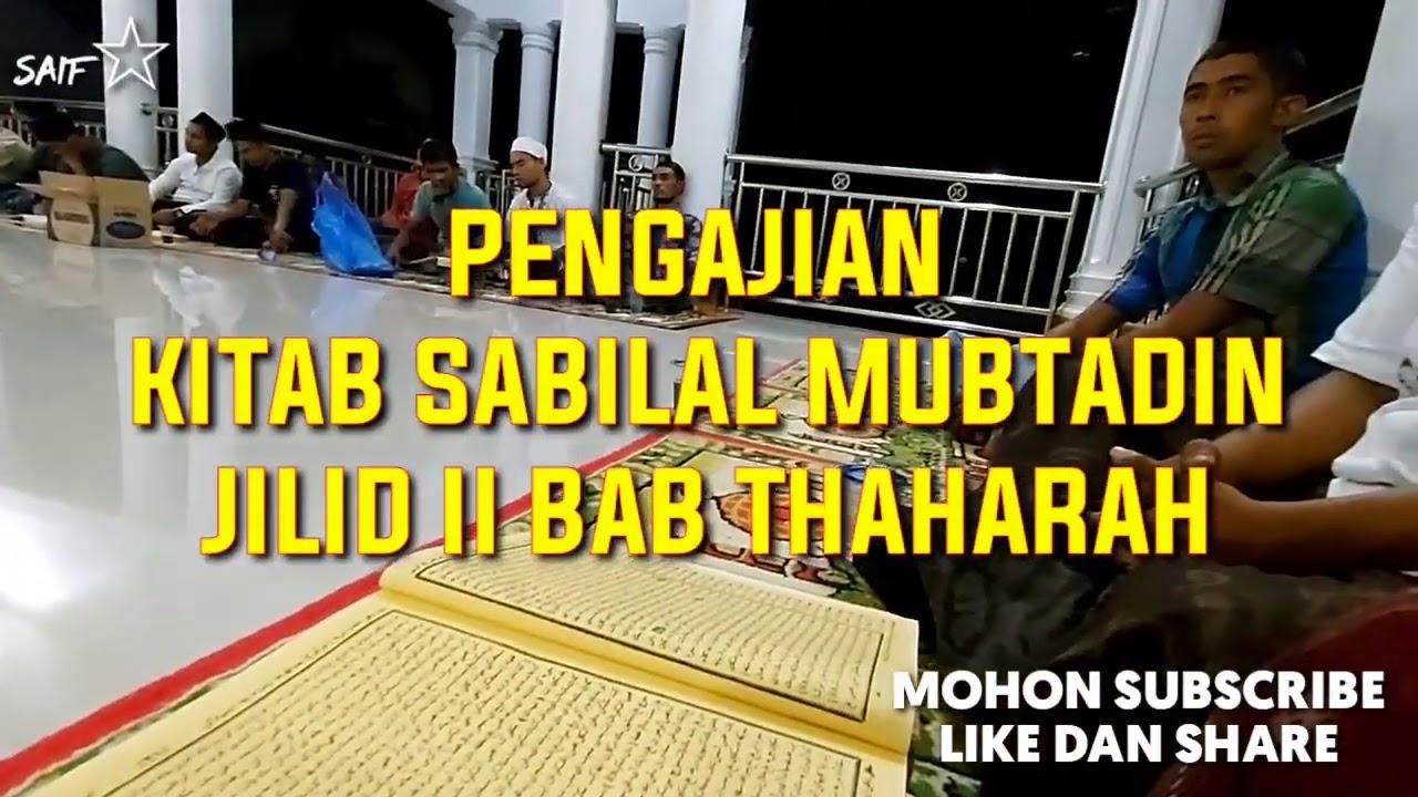 Kitab Sabilal Mubtadin Jilid ll    Vol 7 Tentang Thaharah