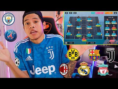 MI NUEVO EQUIPO En Este MODO CARRERA De MÓVIL!!! 😱 Dream League Soccer 2020