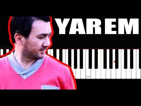 Aqşin Fateh & Nəfəs - Yarem - Piano Tutorial