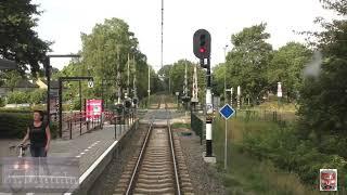 Meerijden met de machinist van Baarn naar Utrecht. (Met snelheidsmeter)