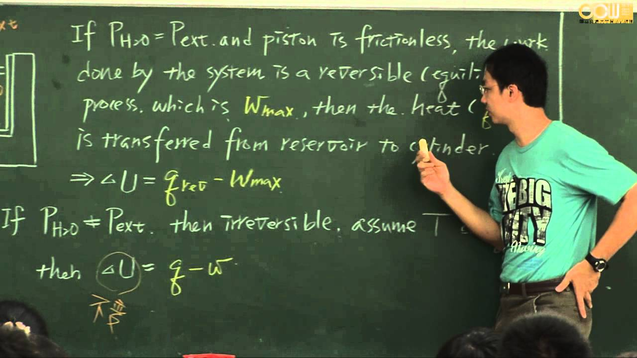 Lec07 材料熱力學(一) 第五週課程 - YouTube