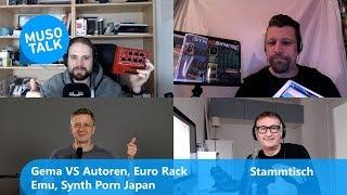 GEMA VS Autoren, Euro Rack Emus, Synth Porn Japan - Stammtisch