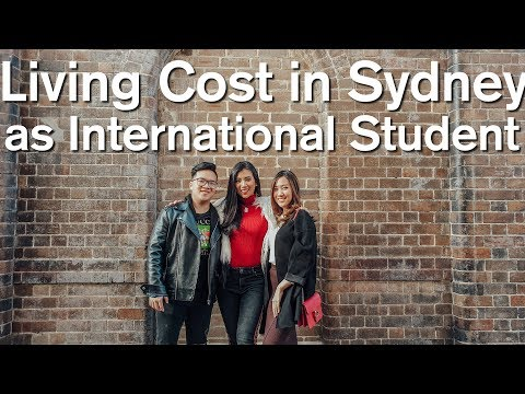 Living Cost In Sydney & Part Time Job For International Student