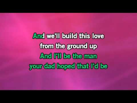 From the Ground Up - Dan + Shay - MP3 instrumental karaoke