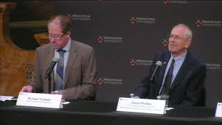 Princeton News Conference For James Peebles, Winner Of The 2019 Nobel Prize In Physics