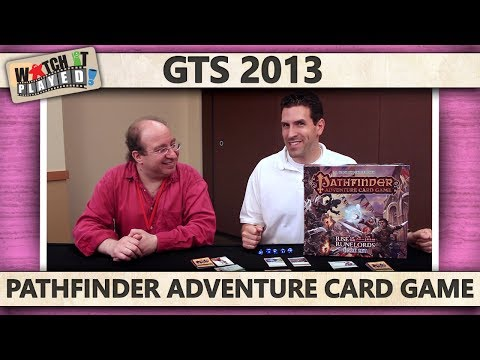 GTS 2013 - Pathfinder Adventure Card Game