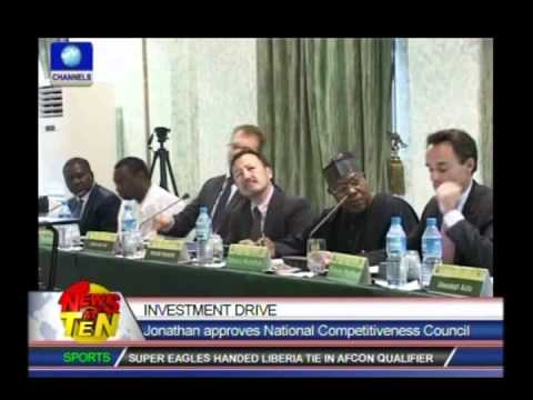 Jonathan approves National Competitiveness Council