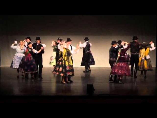 Kóka néptáncegyüttes   Kalocsai táncok 2014