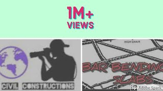 Bar Bending details In slabs || civil tech constructions || watch and learn.