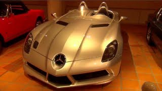 Prince of Monaco's Amazing Car Collection - SLR Stirling Moss, Countach, Ferrari F1 ...