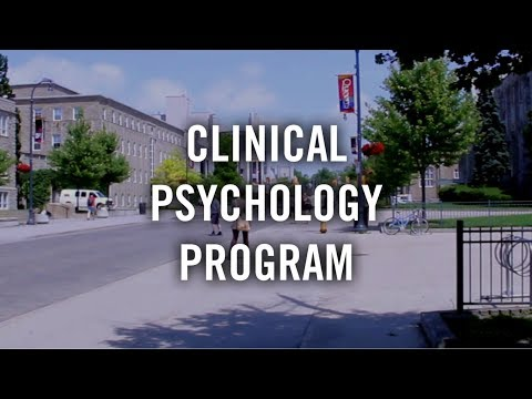 Clinical Psychology at Queen's University, Kingston Ontario