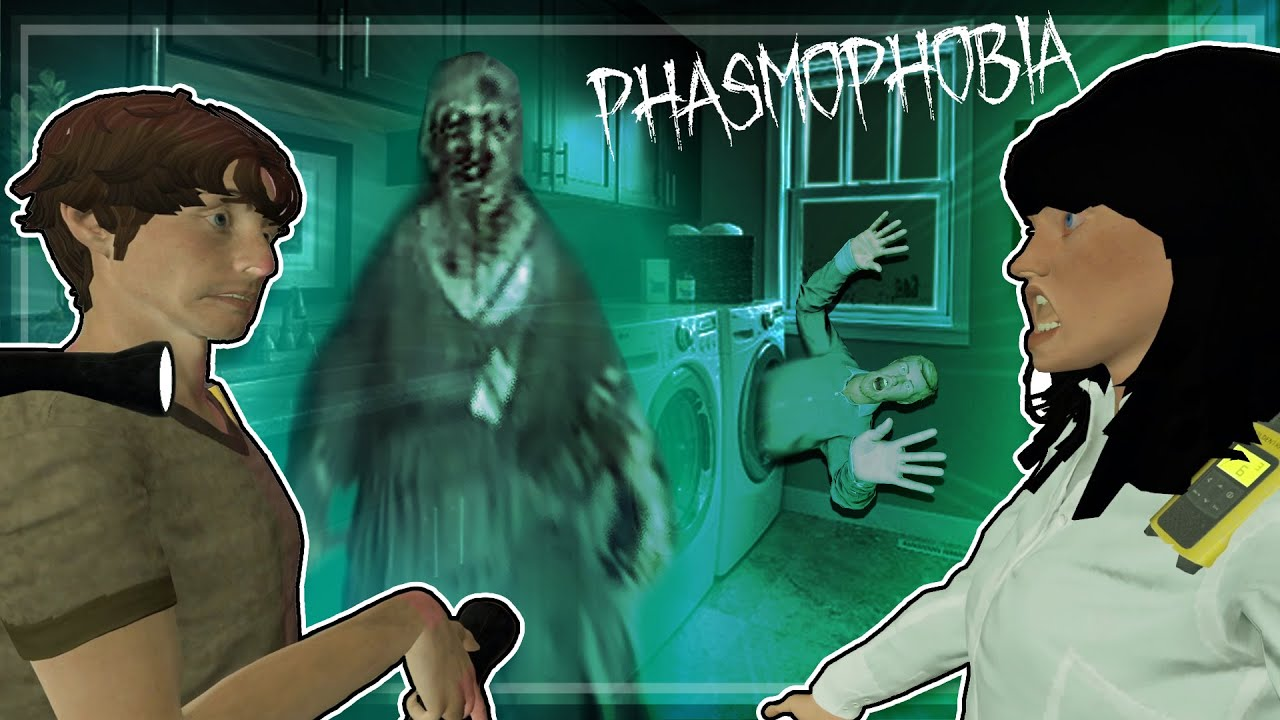 What Are You Doing Step Ghost? - PHASMOPHOBIA - Part 2