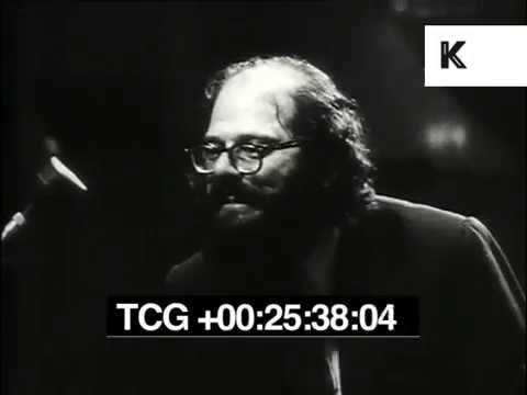 Allen Ginsberg Reads Beat Poetry at Royal Albert Hall London 1965