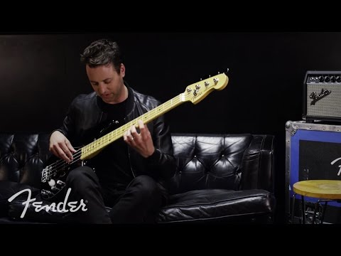 Sean Hurley Breaks Down the Fender American Elite Precision Bass