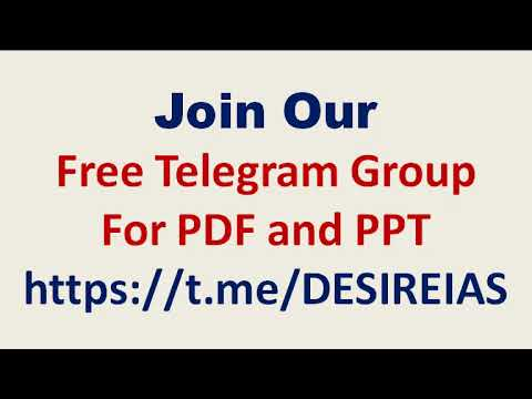Join Our Official Telegram Group for Free PDF & PPT