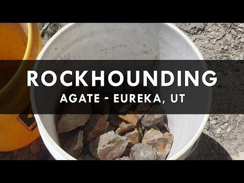 Rock Hounding for Agate /Jasper in Eureka, UT