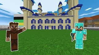 ZENGİN ŞEHRE CAMİ YAPTIRDI! - Minecraft