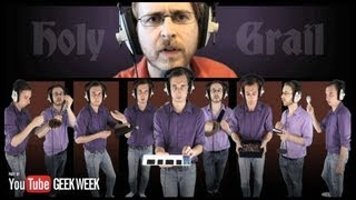 holy grail brett domino trio jay z justin timberlake cover geek week