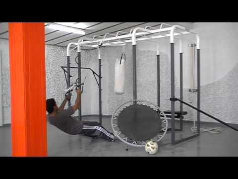 Jaula para entrenamiento funcional reynoso equipamientos for Entrenamiento funcional