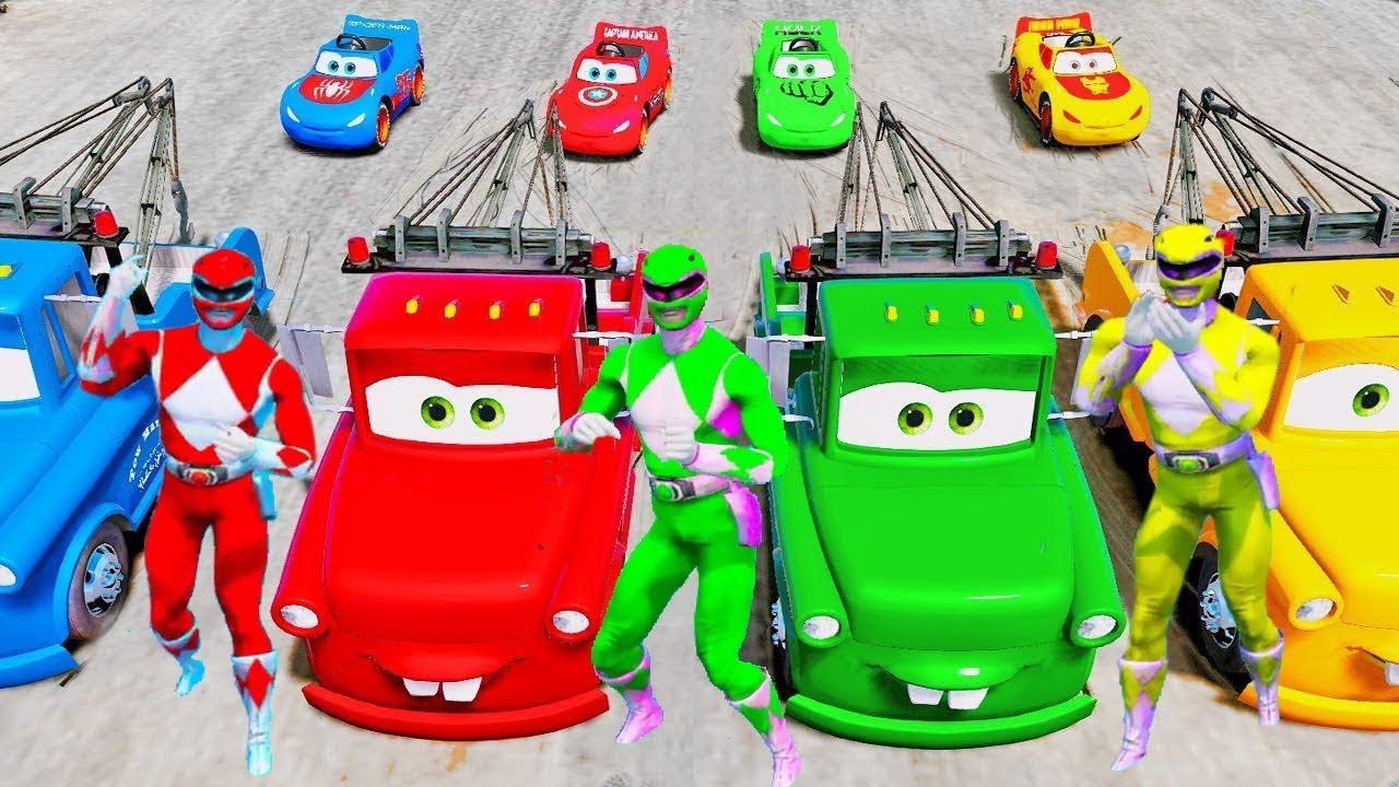 color superman driver cars transportation for kids in super heroes