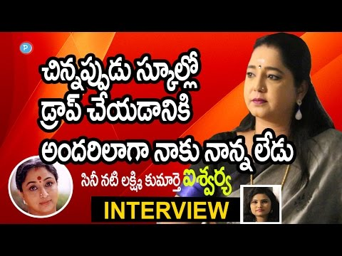 Actress Aishwarya About Her Childhood Days - Telugu Popular TV