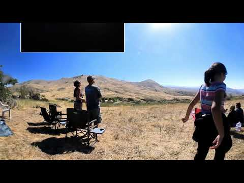 2017 Total Solar Eclipse from Sweet, Idaho – 360 video – Vicarious Video